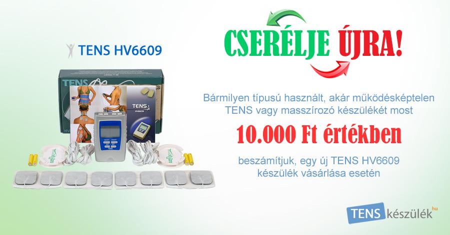 TENS HV6609 készülék CSERE Akció!