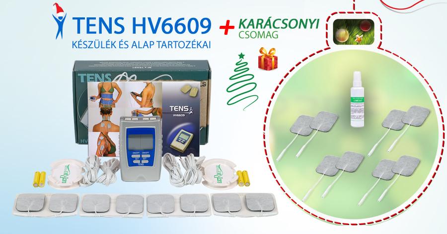 TENS HV6609 készülék + Karácsonyi csomag