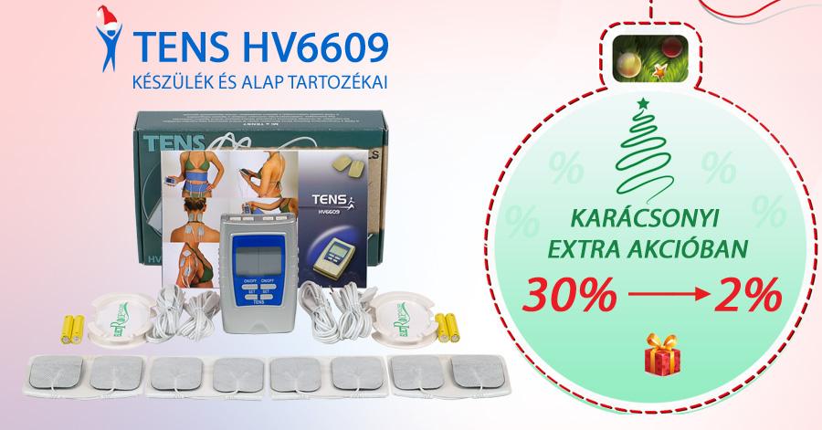 TENS HV6609 készülék Karácsonyi EXTRA akcióban