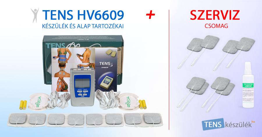 TENS HV6609 készülék + Szerviz csomag